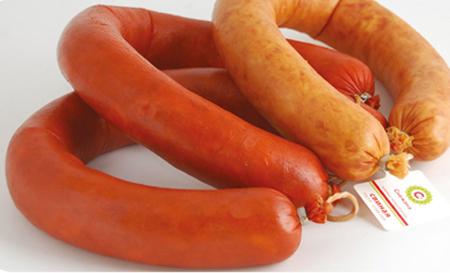Коллагеновая кольцевая колбасная оболочка «Натурин»